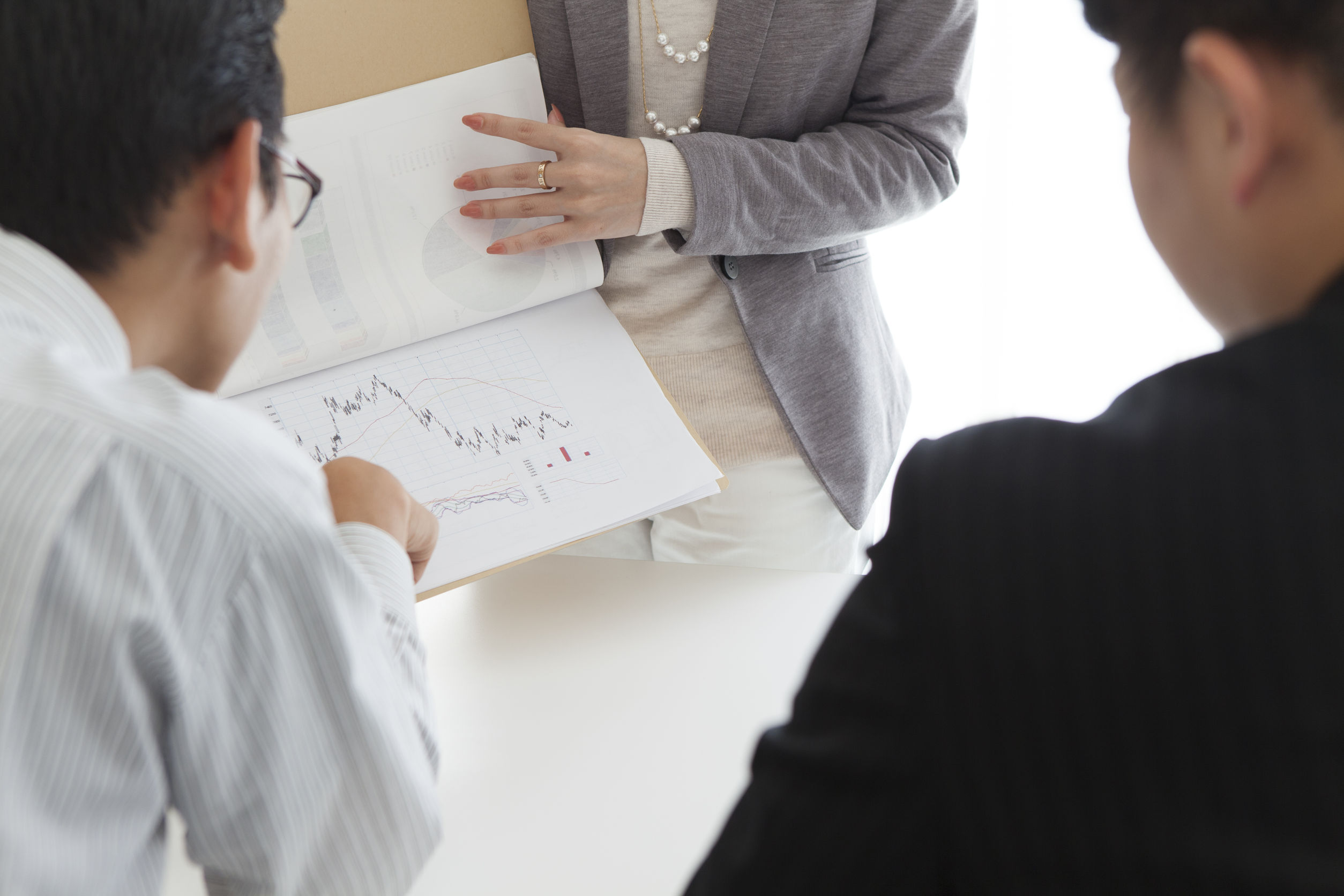 50008821 - group of successful business people having meeting together